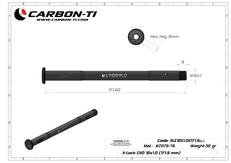 X-Lock EVO 12x1.0 171.5 mm