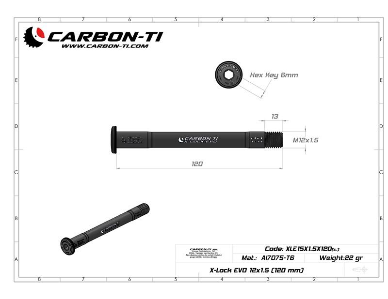 X-Lock EVO 12x1.5 (120 mm)