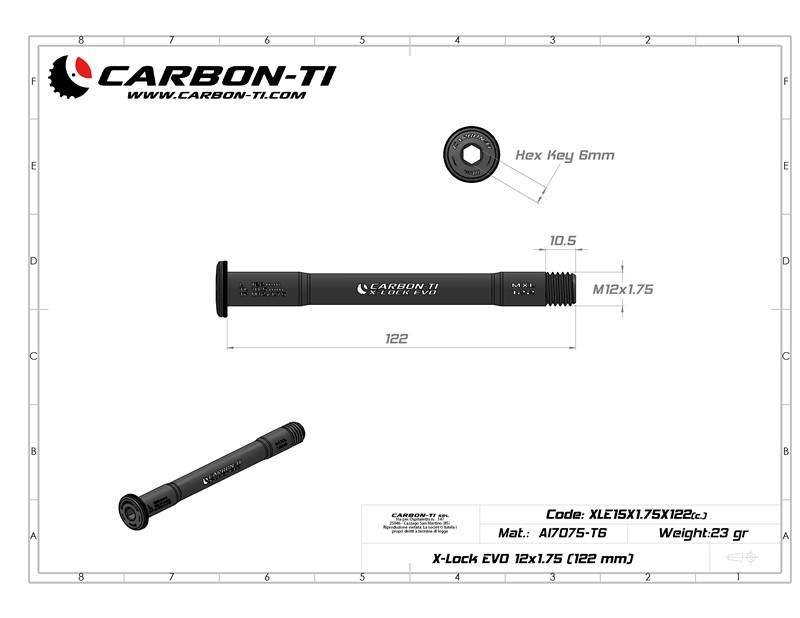 X-Lock EVO 12x1.75