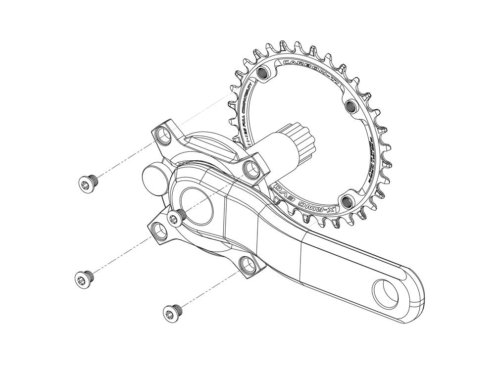 x-ring EVO fixing system